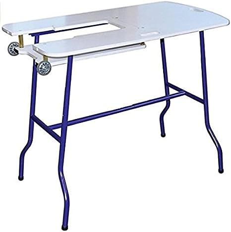 Mesa de corte para coser ajustable altura plegable fácil de viajar ...