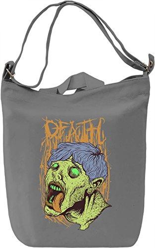 Zombie boy Borsa Giornaliera Canvas Canvas Day Bag| 100% Premium Cotton Canvas| DTG Printing|