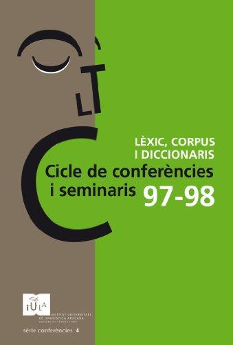 Cicle de conferències i seminaris 97-98 (IULA (UPF))