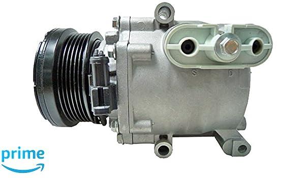 BEHR HELLA SERVICE 8FK 351 334-831 Compresor, aire acondicionado: Amazon.es: Coche y moto