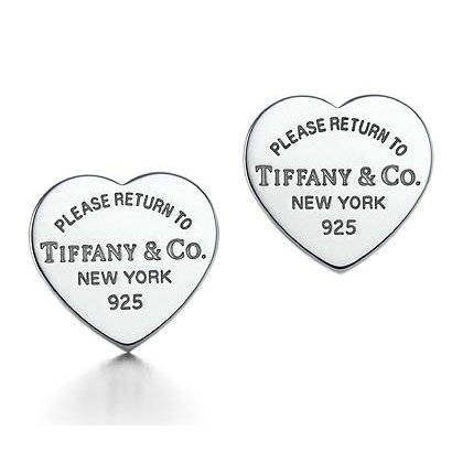 00330d0bc Amazon.com : Return to Tiffany & Co Collection Heart Earrings Tiffany  Earrings : Sports & Outdoors