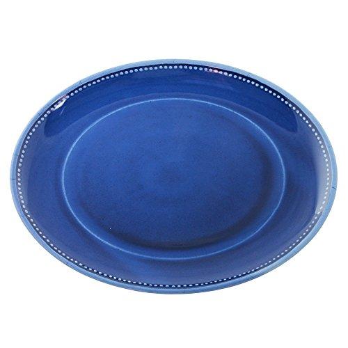 Le Cadeaux Provence Solid Coupe Oval Platter, 16