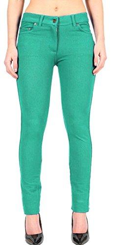 Vert Plein Janisramone Un Zip Femmes Longueur Jeggings Plaine Maigre Forme Pantalon Jade Extensible Svelte Nouveau Up Dames En 6byvfYI7g