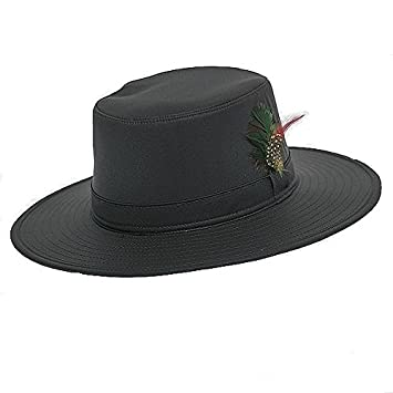 285594876b39e Jack Daw Super W Brim Wax Hat