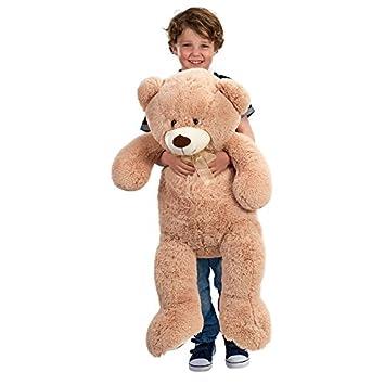 24f0146aab8 90cm Giant Brown Teddy Bear  Amazon.co.uk  Toys   Games