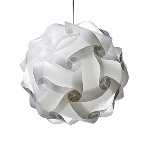 Fding Modern IQ Puzzle Lampshade For DIY Home Decor Art