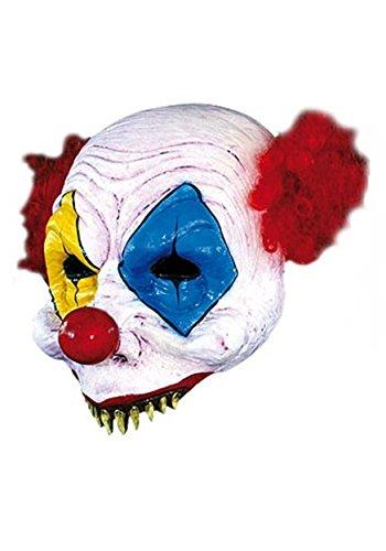 Half Clown Mask (Scary Clown Half Mask - ST)