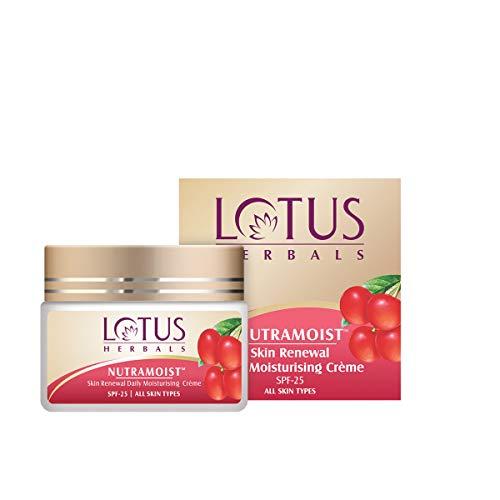 Lotus Herbals Skin Renewal Daily Moisturizing Creme SPF 25 - Nutramoist 50g