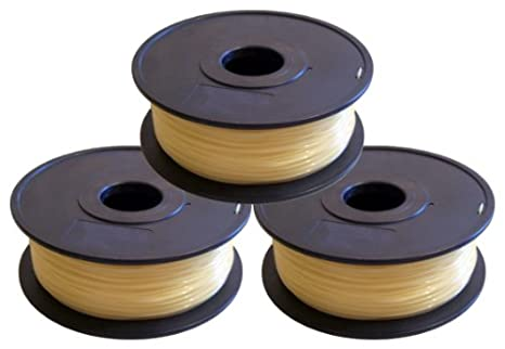Triple-Pack: efectivo PVA Filament 1,75 mm 3 pcs 0,5 kg ruedas=1,5 ...