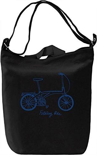 Folding bike Borsa Giornaliera Canvas Canvas Day Bag| 100% Premium Cotton Canvas| DTG Printing|