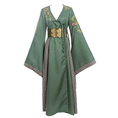 CosplayDiy Women's Dress Costume for Game of Thrones Cersei Lannister Green