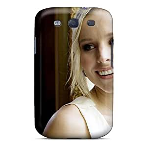Jasoneyk Case Cover Protector Specially Made For Galaxy S3 Kristen Bell
