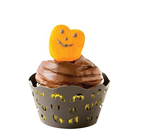 Fox Run 7173 Halloween Spooky Eyes Cupcake Wrappers, Standard, Set of (Spooky Halloween Cake Stand)