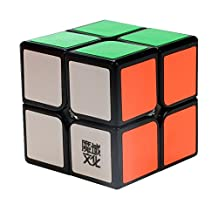 Moyu 2x2 sticker speed Magic Cube puzzle --black