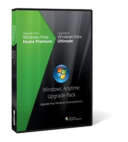 Microsoft Windows Vista Anytime Upgrade Pack [Vista Home Premium to
