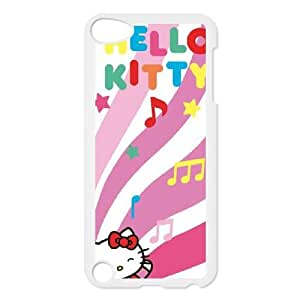 Hello Kitty Dancing Notes iPod Touch 5 Case White Protect your phone BVS_770891