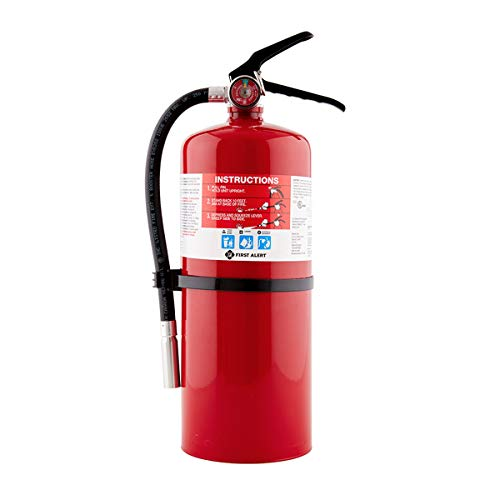 First Alert Fire Extinguisher Professional Fire Extinguisher, Red, 10 lb, PRO10