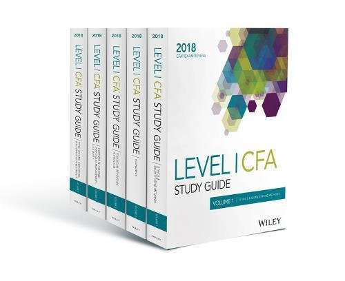 Wiley Study Guide for 2018 Level I CFA Exam: Complete Set