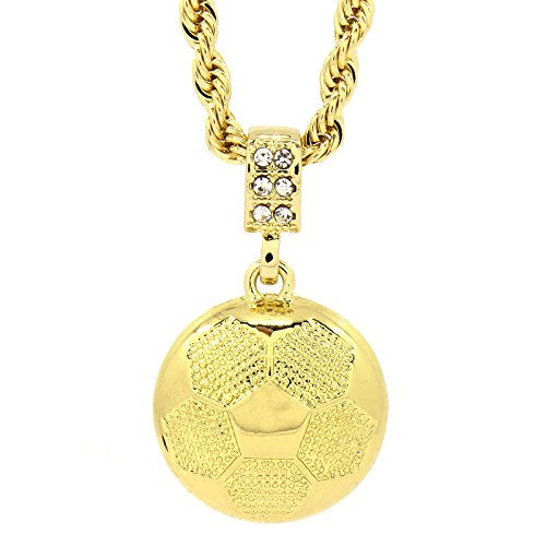 Mens Soccer Pendant Chain 19967 product image