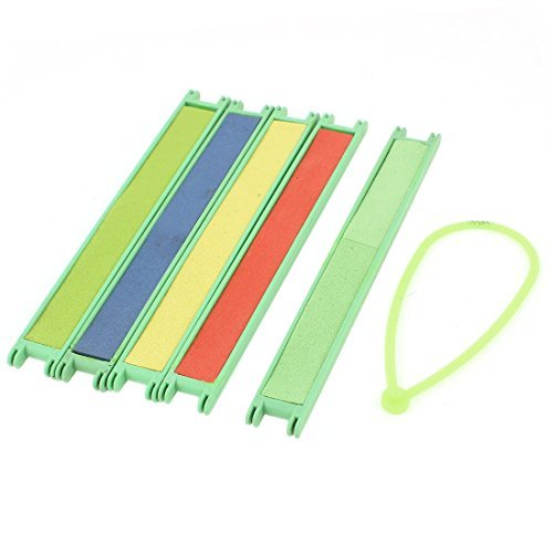 Rectangle Case Foam Ligne de pêche Spool Canette 5 Pcs couleurs assorties