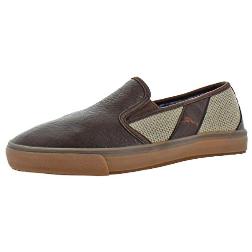 Bahama Cream Tommy - Tommy Bahama Men's Pacific Ridge Loafer, Cream/Brown, 7 D US