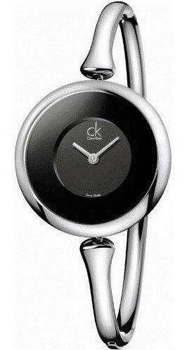 K1C23102 Calvin Klein CK Sing Ladies Watch - Black Dial