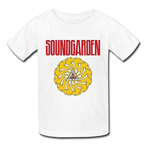 Price comparison product image SUAMDA Kid's Datei Soundgarden Badmotorfingers T Shirt