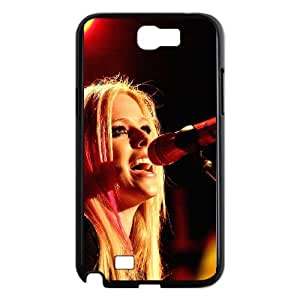 Samsung Galaxy N2 7100 Cell Phone Case Black hb39 avril lavigne sing concert VIU036851