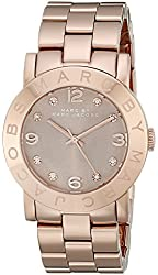 Marc by Marc Jacobs Women's MBM3221 Analog Display Analog Quartz Rose Gold Watch