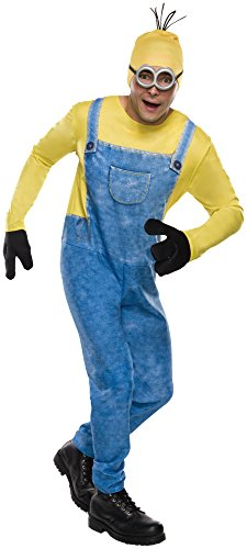 [Rubie's Costume Co Men's Minion Kevin Costume, Multi, X-Large] (Adult Minions Costumes)