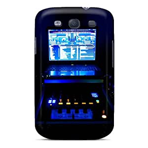 Fashion Tpu Case For Galaxy S3- Pioner Turntable Defender Case Cover