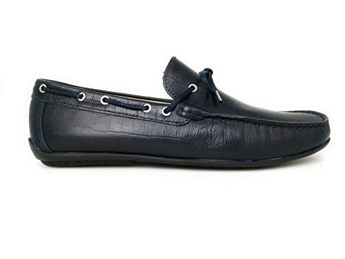 para Tallas Zerimar 50 Mocasines Marino Azul Hombre Náuticos Hombre Hombre Zapatos Hombre Grandes de 46 Náuticos Náuticos Piel Verano HqfwOtRq
