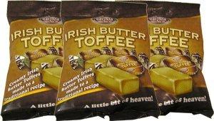 Irish Toffee - Oatfield Irish Butter Toffee Bags 150g , 3 Pack