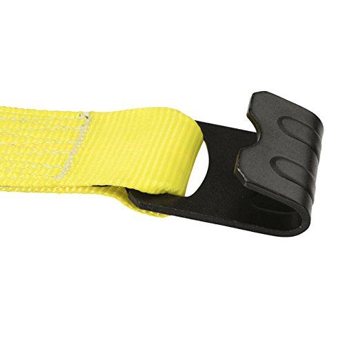 3'' X 30' Ratchet Strap with Flat Hooks (15,000 lbs. Break Strength) by US Cargo Control (Image #2)