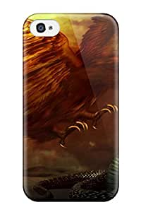 New Snake Vs Falcon Tpu Case Cover, Anti-scratch KarenStewart Phone Case For Iphone 4/4s