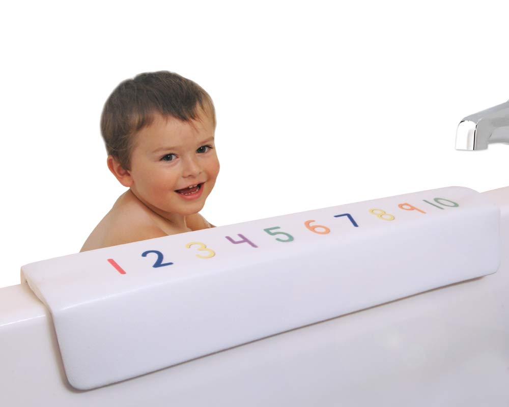 Bath Tub Guard and Elbow Rest for Child Safety and Parent Comfort During Bath Time by Joy Safety Products (Image #1)