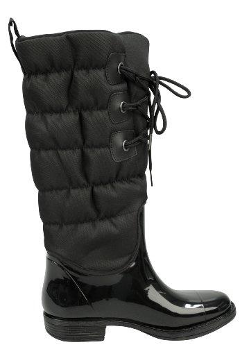 Capelli New York Damen Regenstiefel Corded Black