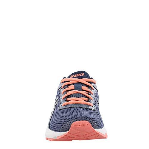 ASICS GT-1000 6 GS Kid's Running Shoe. Smoke Blue/Indigo Blue/Begonia Pink, 6 M US Big Kid by ASICS (Image #2)