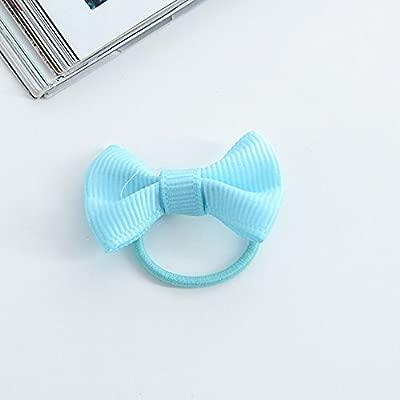 10 x chytaii elásticos con secador Mini corbata de cabello diadema ...