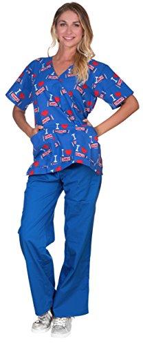 Nestle Licensed Womens Medical Scrubs