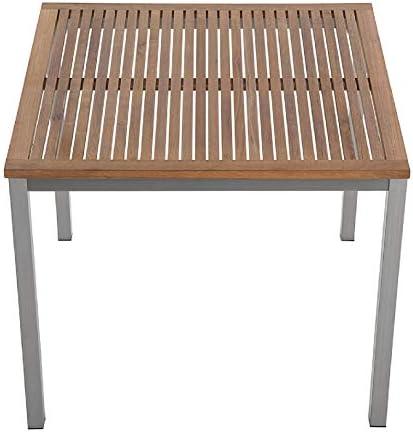 CHICREAT - Mesa extensible de comedor para el jardín de madera de ...