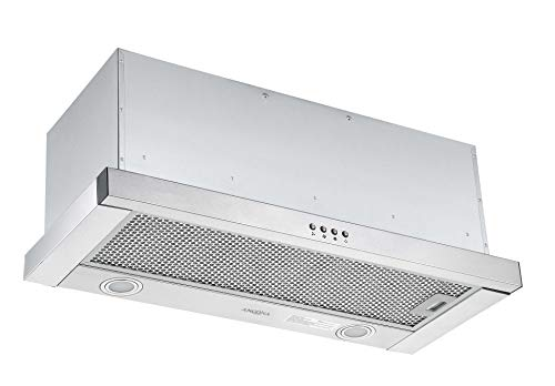 (Ancona AN-1600 Forte 430 Slide-Out Range Hood, 30-inch, in Stainless)