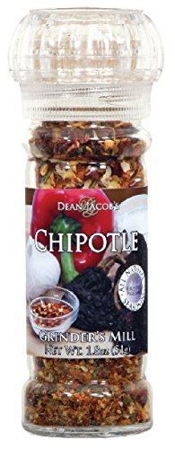 Dean Jacob's Grinder Smokey Chipolte, 1.8-Ounce