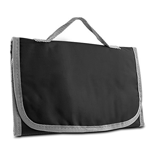 Toiletry Kit, Logic Hanging Trifold Organizer Toiletry Travel Kit, Black by By-Travelon