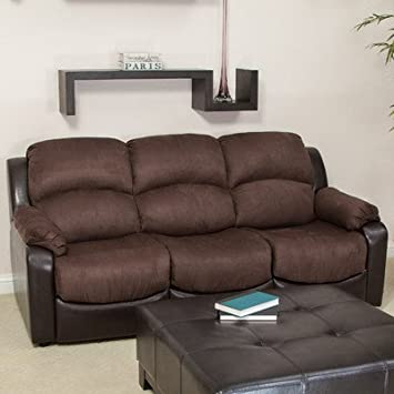 Excellent Amazon Com Best Selling Graham Leather Microfiber Sofa Bed Machost Co Dining Chair Design Ideas Machostcouk
