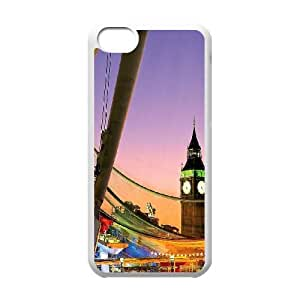 London 8 iPhone 5c Cell Phone Case White&Phone Accessory STC_202450