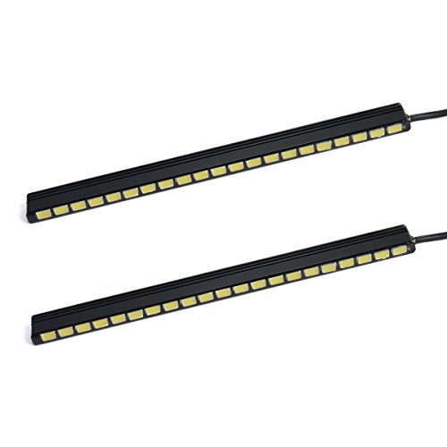 XCSOURCE 2Pcs 21LED 9W 5050 Super Bright White DRL Car Daytime Running Light MA138
