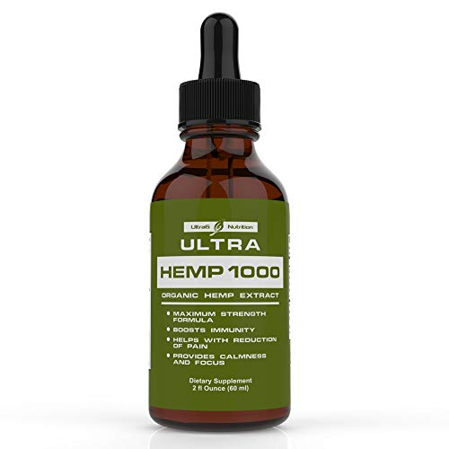 100% Pure Hemp Oil for Pain Relief (1000mg Hemp). Best Selling Hemp Extract Helps with Anxiety Relief, Stress Relief, Arthritis Pain Relief - A Hemp Seed Oil, Natural Hemp Oil + Anxiety Oil.