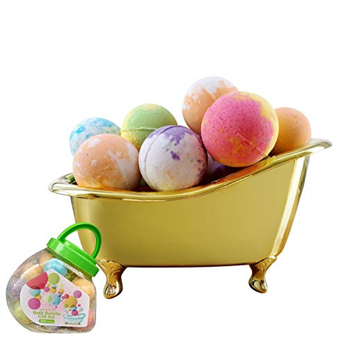 Moisturizing Foam Bath - Organic Bath Bombs Gift Set with 20 Packs Natural Bath Bombs, Funny Moisturizing Bath Bombs for Kids with Rich Foam, Handmade Bath Bombs Gift Set for Birthday , Mother's Day and for Kids