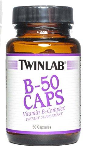 Twinlab B-100 50 Caps (Twinlab B-50 Caps -- 50 Capsules)